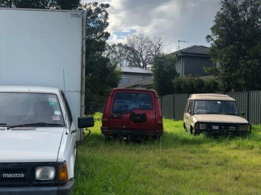 Land Rover Mazda Utility Removal